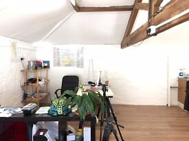 Shared workspace in courtyard mews - 2 desks available
