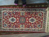 Wilton Persian rug new and unused 100% wool