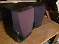 Panasonic speakers x2 40w
