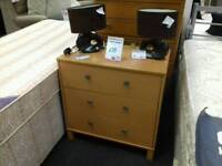 Chest of drawers in light wood