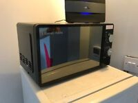 Microwave oven, Black, stylish, Russell Hobbs, buyer collects