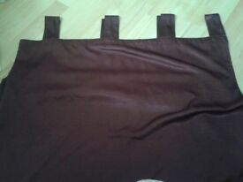2 pairs of faux silk curtains