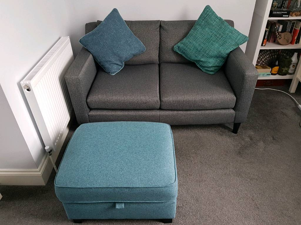 Outstanding Next Jacob Sofa And Brompton Footstool In East Croydon London Gumtree Ncnpc Chair Design For Home Ncnpcorg
