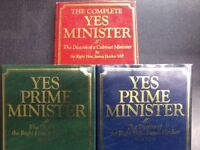 Yes Minister & Yes Prime Minster, the Diaries of the Rt Hon James hacker
