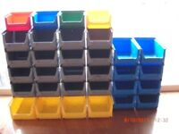 Storage bins ideal for storage of screws etc