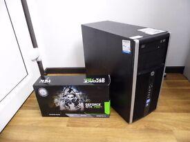 Quick Gaming Computer PC - Intel i5 CPU, GTX 750 TI Graphics, 4GB RAM