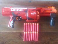 MEGA ROTOFURY NERF GUN