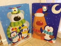 Christmas gift bags children's toy sack super jumbo size