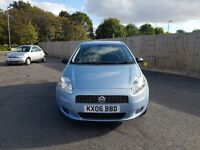 2006 FIAT PUNTO GRANDE 1.2 PETROL LONG MOT GOOD RUNNER LADY OWNED NOT CORSA VAUXHALL