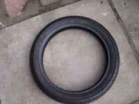 A Used Bridgestone Battlax BT 45 Front tyre 110/80-17 57H