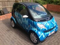 SMART CAR FORTWO 2004 LIMITED EDITION 'NUMERIC BLUE' GRAB A BARGAIN
