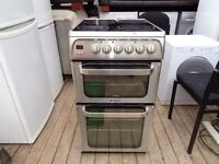 hotpoint ceramic electric 50 cm double oven