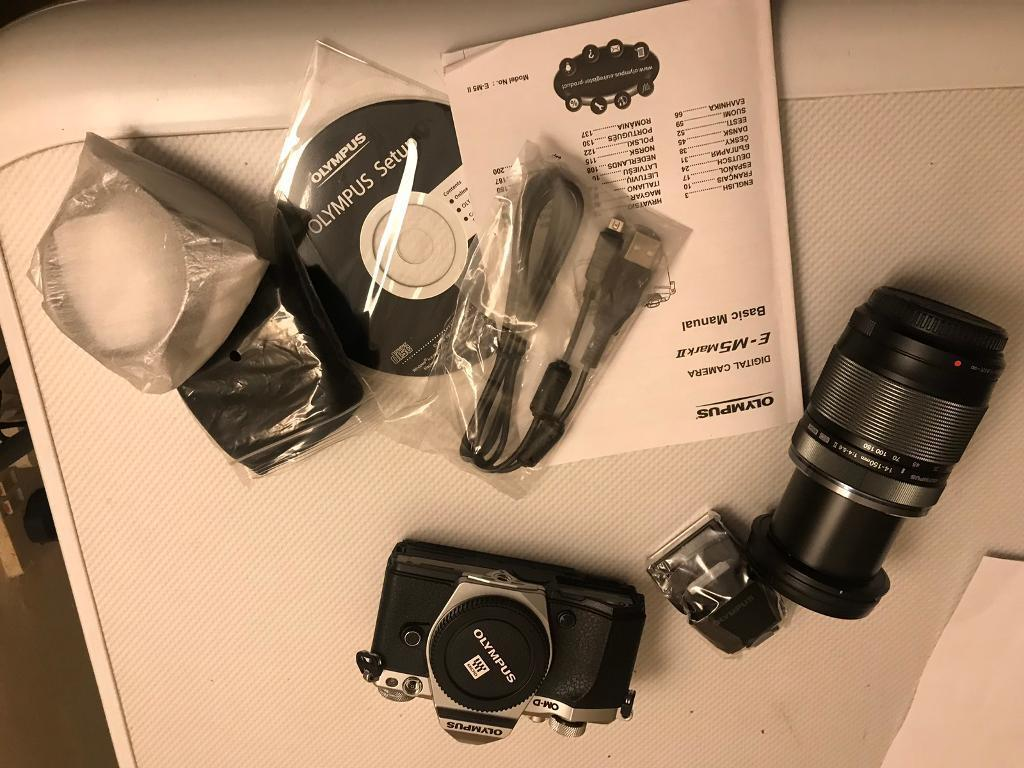 Olympus omd m5 mk11 with 14-150mm lens boxed