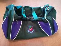 Farnborough Hill School sports bag, tracksuit, sportswear and jumper.