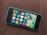 iPhone 5C Unlocked blue
