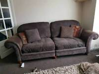 Thorpe range 4 seater sofa with chair and foot chest