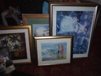 FRAMED PICTURES AND CANVAS