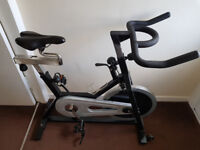 Heavy duty spinning bike with 25kg flywheel