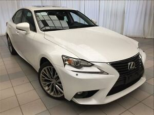 2015 Lexus IS 250 Premium Package: 1 Owner, New Tires.
