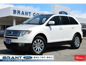 2010 Ford Edge Limited - CLEAN CARPROOF, LEATHER!