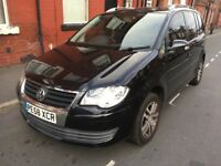 2008/58 Vw Touran 1.9Tdi Se 7 seater Cheap bargain