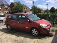 Renault grand scenic, spares or repairs