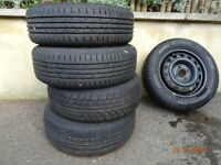 Tyres 185/60R14 x 5