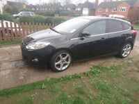 FORD FOCUS TITANIUM X 1.0 125 ECOBOOST PETROL with live buid in sat nav