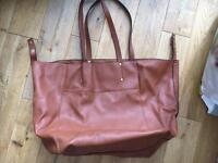 Next large tan Handbag