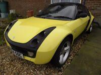 Smart Roadster 2004 rhd £1150