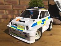 Tamiya Honda City Turbo - WR-02C 58611 - Custom Police Livery