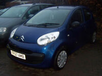 2007 07 CITREON C1 NICE SPEC NEW MOT SUPPLIED ONLY £1395