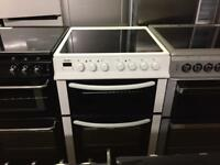 White 60cm electric Cooker