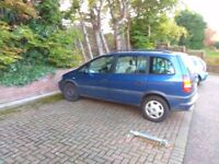 Vauxhall Zafira 7 seater in great condition - great runner - great price - 2.0 Turbo Diesel
