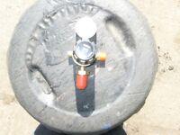 Argon gas regulator new