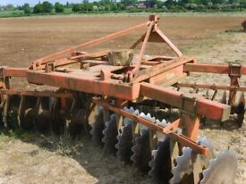TASKERS DISC HARROW