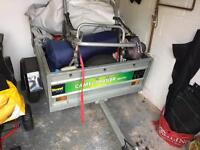 Nearly new trailer - Camel camping trailer 4x3