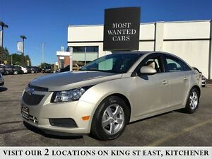 2014 Chevrolet Cruze 2LT | BACK UP CAMERA | BEIGE LEATHER