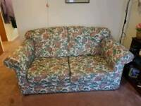 Sofa bed ,chair and foot stool