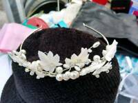 Beautiful tiara for a wedding or party