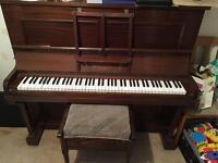 Dark Oak Piano