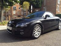 AUDI TT 2010 (60 plate) 1.8 TFSI ROADSTER CONVERTIBLE - VERY LOW MILEAGE !