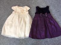 girls 2-3 years dresses £3 each