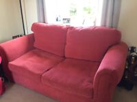2 seater sofabed very good condition. Collection only. Open to offers