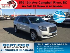 2014 GMC Acadia SLE AWD DVD Sunroof Heated Seats