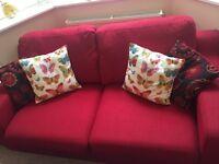 Red DFS Sofa