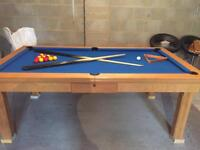 Pool Table/Dinning Table