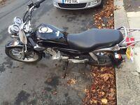 Yamaha YBR 125 Custom Black 2013