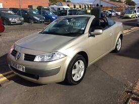 Renault Megane 1.6 convertible AUTOMATIC 55 Reg 36,000 miles only £25 a week on finance wow