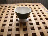 A small Carlton ware green and white bowl.
